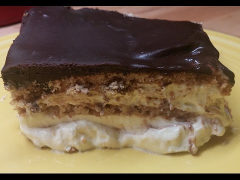 Old Time Eclair Cake with Jello Instant Pudding