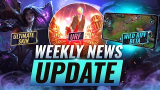 NEW UPDATES: WILD RIFT BETA + Kai'Sa ULTIMATE SKIN LEAK? + New Riot Game & MORE - League of Legends