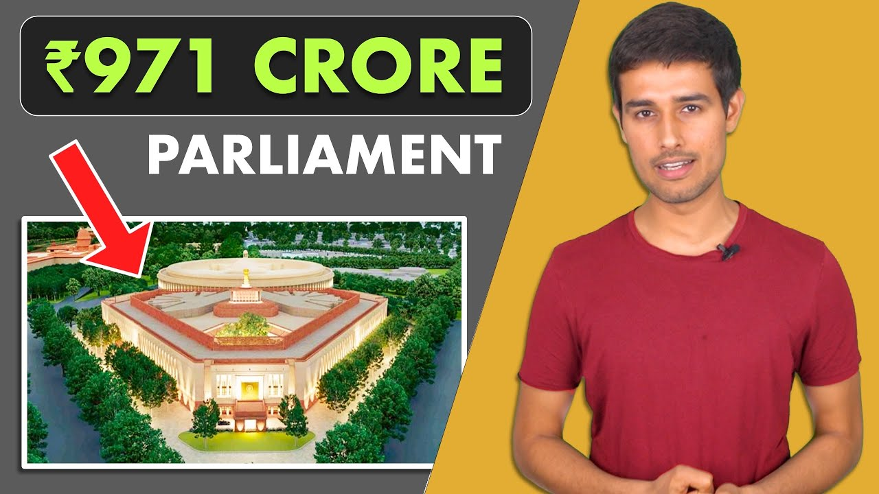 India's New Parliament Building | Central Vista Project | Dhruv Rathee