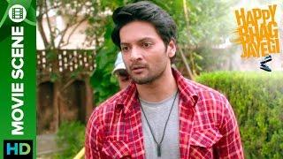 Ali Fazal refuses to visit Lahore | Happy Bhag Jayegi | Movie Scene