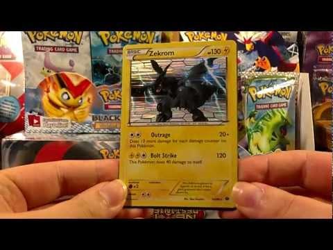 Opening Pokemon Next Destinies Voltage Vortex (Zekrom) Theme Deck