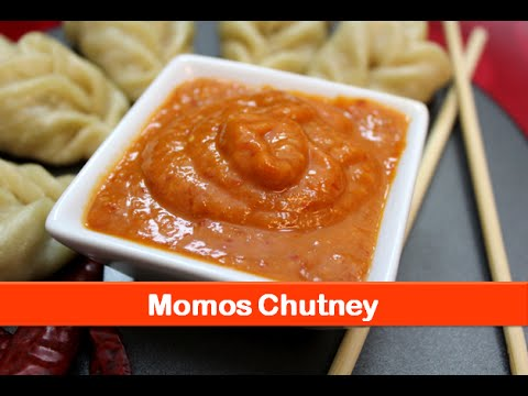 Momos Chutney recipe/Recipe of Chili hot sauce/Dip for dumpling and evening snacks-let's be foodie