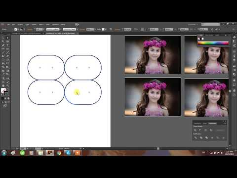 How to Create collage of Photos with in minutes in Adobe Illustrator.