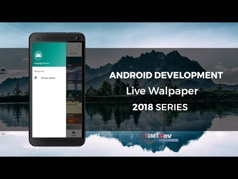 Android Live Wallpapaer - Part 9 Sign In with Google Account | EDMT DEV