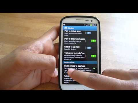 How To Take ScreenShot With Galaxy S3