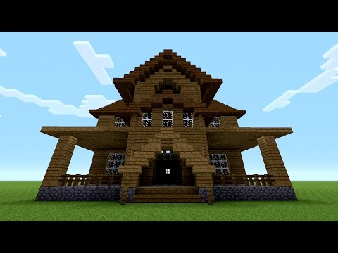 Minecraft - How to build a Wooden House