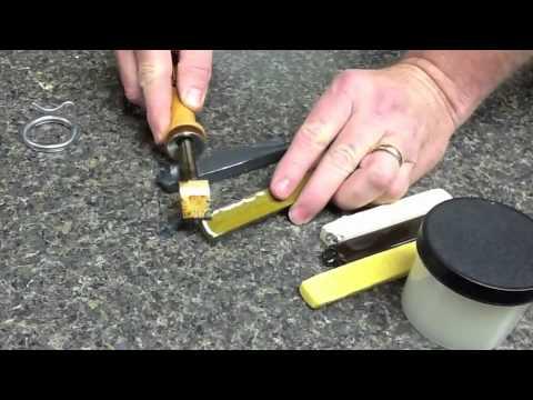 Finish Repair Burn-In Stick Repair on High Pressure Laminate