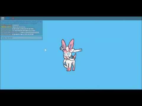 Pokemon Brick Bronze - How to evolve eevee into sylveon