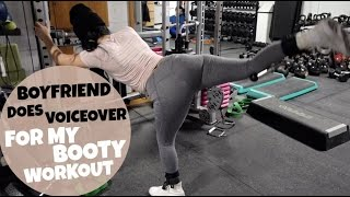 Boyfriend Does Voiceover For My Booty Workout