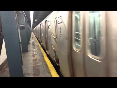 IND Queens Blvd Line: R46 & R160 E, F & R Trains @ Briarwood-Van Wyck Blvd
