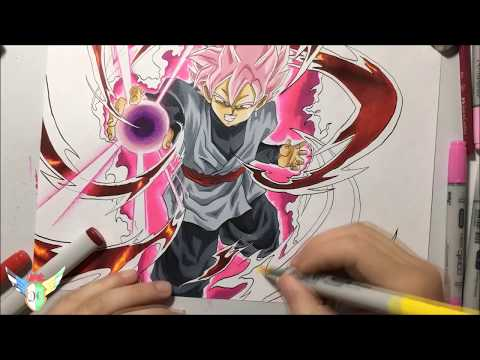 speed drawing dragon ball speed drawing