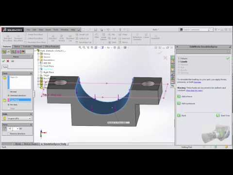 Solidworks-Simulation Express