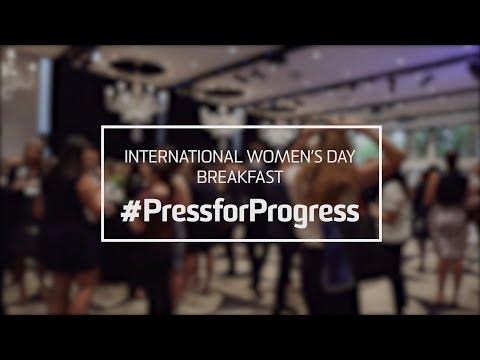 #PressforProgress - Capital W's International Women's Day Breakfast 2018