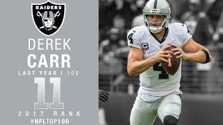#11: Derek Carr (QB, Raiders) | Top 100 Players of 2017 | NFL