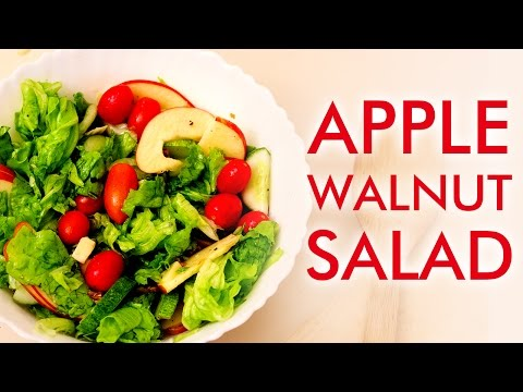 Low Carb Recipes - Apple-Walnut Salad