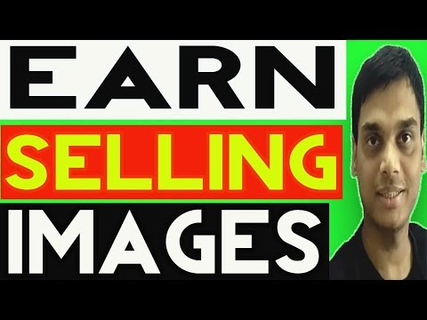 How to make money from Selling and uploading images Explained   Sell pic and earn   Hindi