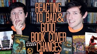 REACTING TO BAD & GOOD BOOK COVER CHANGES!