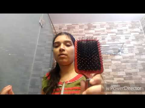 How to clean hair brush , hair roller brush, and comb at home
