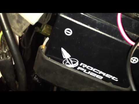 Honda CB 125s ignition coil fix 1974