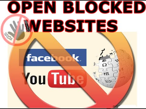 how to access blocked website at institute or office (from cyberoam) 100% working