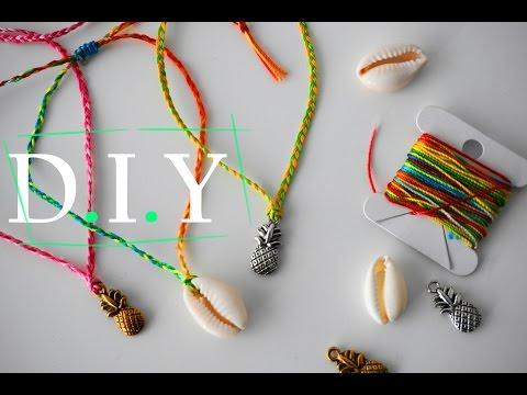 Summer Ankle Bracelets | DIY
