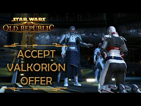 Knights of the Fallen Empire - Accept Valkorion's offer