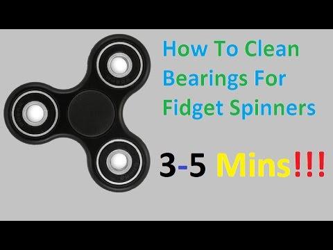 How To Clean Bearings For Fidget Spinner: Spin Longer!