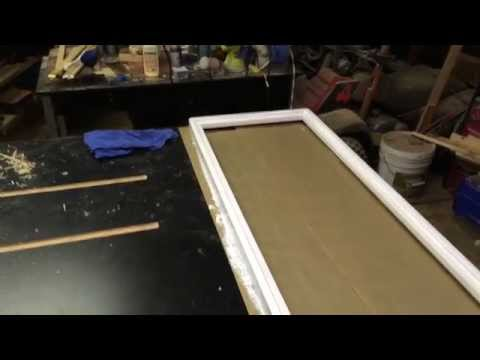 How to build a cork board 1