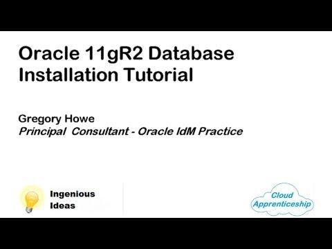 Oracle 11gR2 Database Installation Tutorial