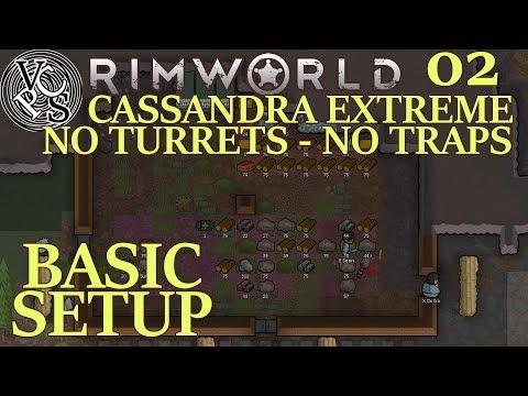 Basic Setup : Rimworld Utopia 17 EP02 - No Turrets No Traps Cassandra Extreme Alpha 17