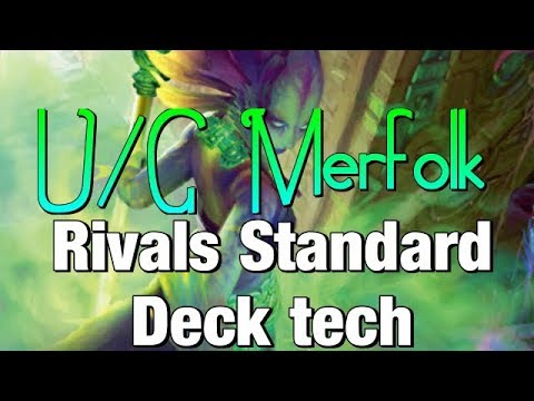 Mtg Deck Tech: U/G Merfolk in Rivals of Ixalan Standard!