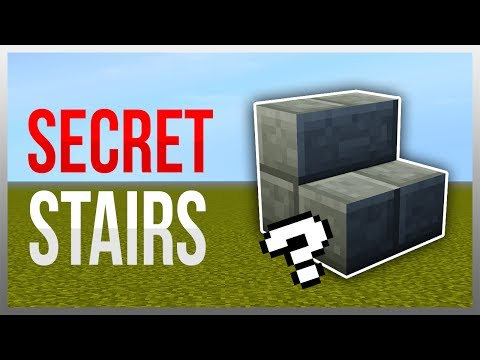 ✔️ SECRET Floor Staircase (Redstone Tutorial)