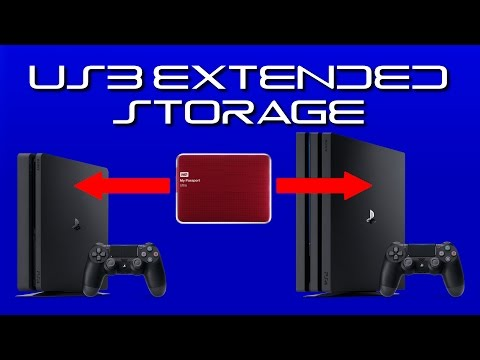 Can You Transfer USB Extended Storage from One PS4 to Another?