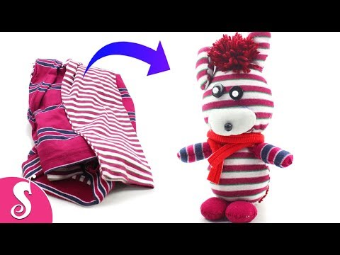 Old T-SHIRT Recycling | Make Awesome Rabbit TOYS from Waste Old T-Shirt for Kids | Best ut of Waste