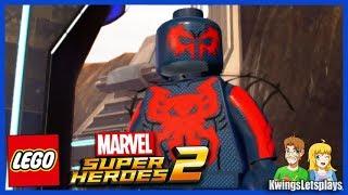 Lego Marvel Super Heroes 2 Free Roam Adventures Part 32 2099 Nyc