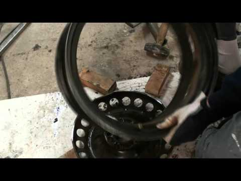 MAD OFFSET -  Flipping the center on Steel wheels