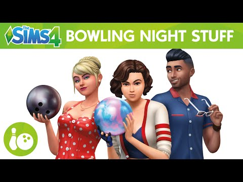 The Sims 4 Bowling Night Stuff: Official Trailer