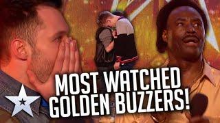 MOST WATCHED GOLDEN BUZZER AUDITIONS!   Britain's Got Talent