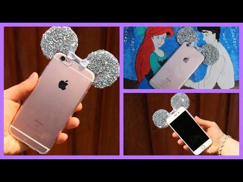 3D Minie Mouse Ear Bling Case DIY
