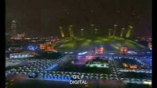 BBC First 2000 news broadcast at 01.00 on 1 Jan 2000
