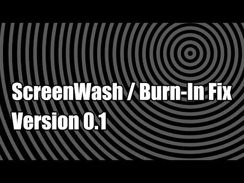 ScreenWash / Burn-In Fix Ver0.1