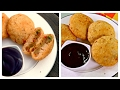 Sooji/ Rava Kachori | Indian Vegetarian/ Vegan Snack | Semolina Kachori