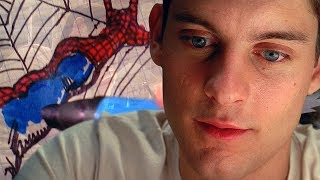 Spider-Man (2002) - Costume Montage (Scene) - Movie CLIP HD