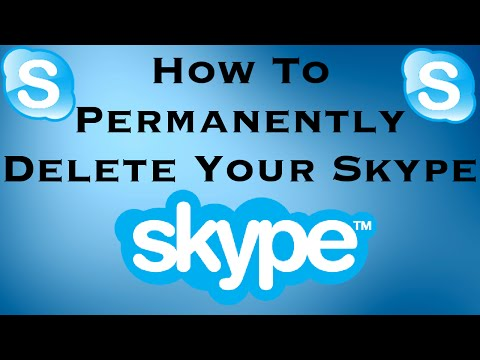 How to Permanently Delete your Skype Account 2017