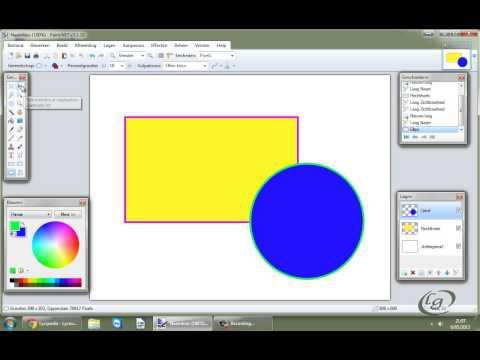 Paint.Net: lagen (layers)