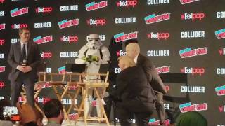President Trump at Comic Con NYCC 2017 FUNNY The Presidents Show Actors