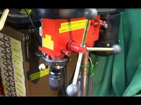 Make A Quality Depth Stop & Spindle Lock For A Bench Or Pillar Drill