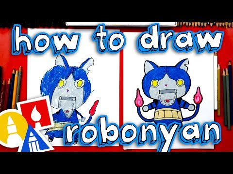 How To Draw Robonyan From Yo-kai Watch