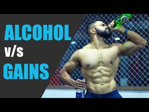 ALCOHOL BAD FOR GAINS? (8 STUDIES)   Effects of Alcohol on Fitness & Muscle Gains