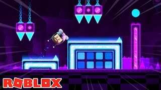 GEOMETRY DASH IN ROBLOX?! WHY????????